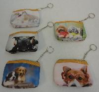 "4.5""x3.5"" Zippered Change Purse [Dogs]"